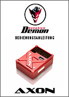 Flybarless Systems for model helicopters - Bavarian Demon