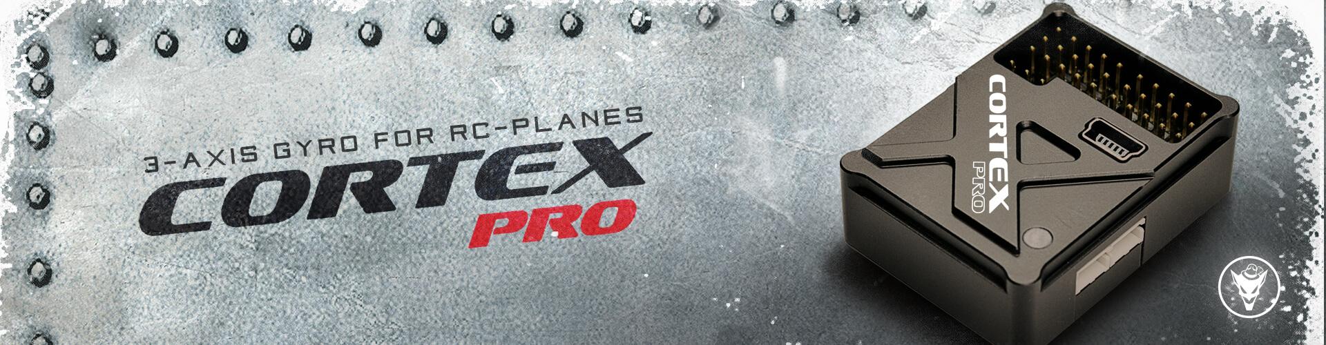 CORTEX Pro fixed-wing aircraft gyro - Bavarian Demon